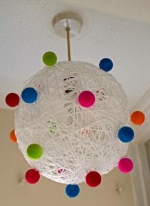Paštaisīts lampas abažūrs/Homemade Lamp Shade